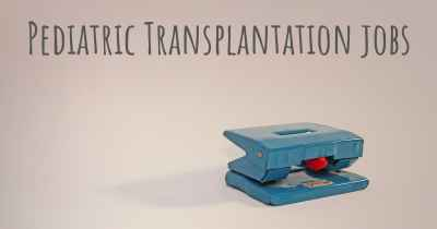 Pediatric Transplantation jobs