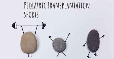 Pediatric Transplantation sports