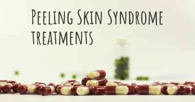 Peeling Skin Syndrome treatments