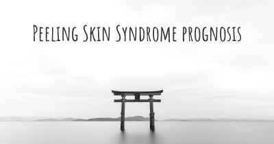 Peeling Skin Syndrome prognosis