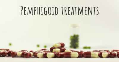 Pemphigoid treatments