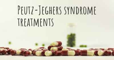 Peutz-Jeghers syndrome treatments