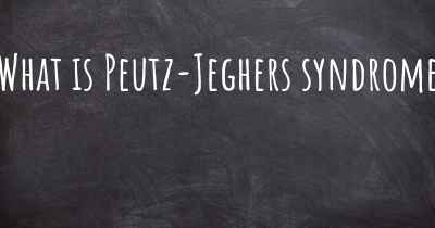 What is Peutz-Jeghers syndrome
