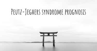 Peutz-Jeghers syndrome prognosis