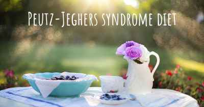 Peutz-Jeghers syndrome diet