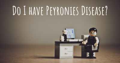 Do I have Peyronies Disease?