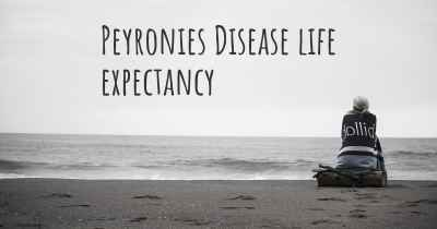 Peyronies Disease life expectancy