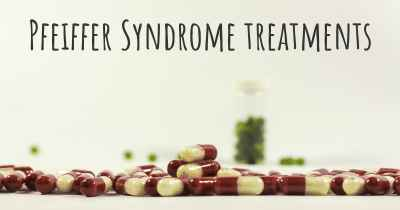 Pfeiffer Syndrome treatments