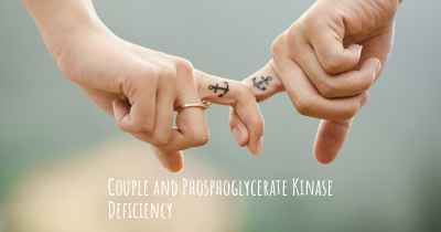 Couple and Phosphoglycerate Kinase Deficiency