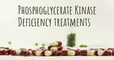Phosphoglycerate Kinase Deficiency treatments