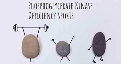 Phosphoglycerate Kinase Deficiency sports