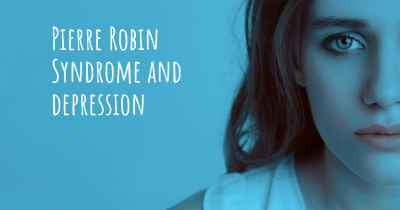 Pierre Robin Syndrome and depression