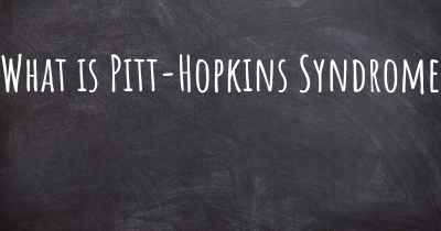 What is Pitt-Hopkins Syndrome