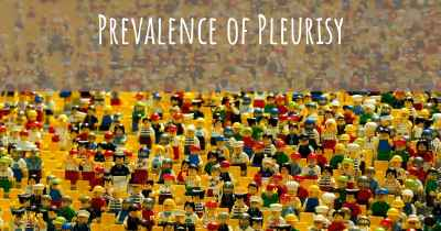 Prevalence of Pleurisy