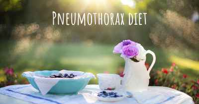 Pneumothorax diet