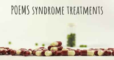POEMS syndrome treatments