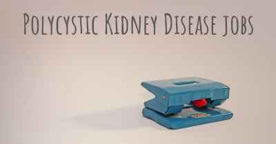 Polycystic Kidney Disease jobs