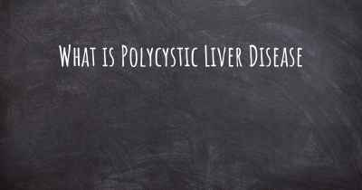 What is Polycystic Liver Disease
