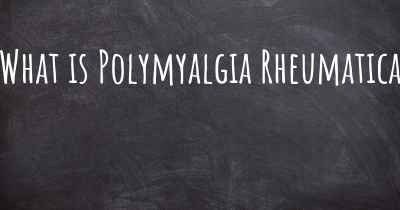 What is Polymyalgia Rheumatica