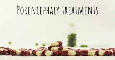 Porencephaly treatments