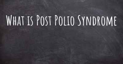 What is Post Polio Syndrome