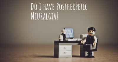 Do I have Postherpetic Neuralgia?