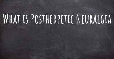 What is Postherpetic Neuralgia