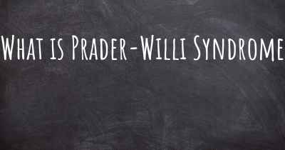 What is Prader-Willi Syndrome