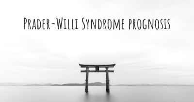 Prader-Willi Syndrome prognosis