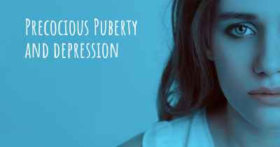 Precocious Puberty and depression