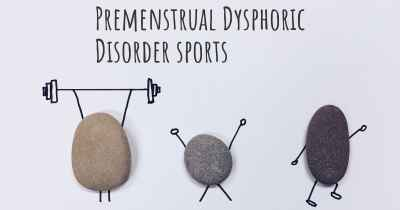 Premenstrual Dysphoric Disorder sports