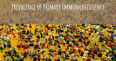 Prevalence of Primary Immunodeficiency