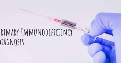 Primary Immunodeficiency diagnosis