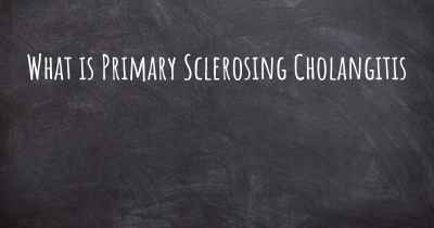 What is Primary Sclerosing Cholangitis