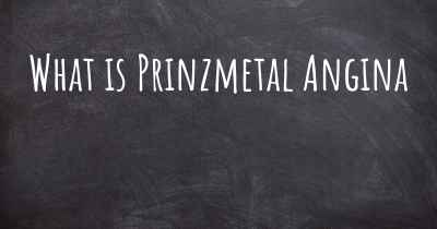 What is Prinzmetal Angina