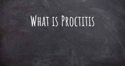 What is Proctitis