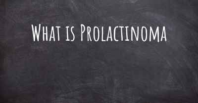 What is Prolactinoma
