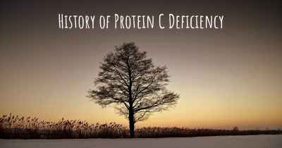 History of Protein C Deficiency