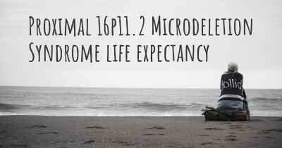 Proximal 16p11.2 Microdeletion Syndrome life expectancy