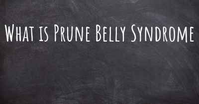 What is Prune Belly Syndrome