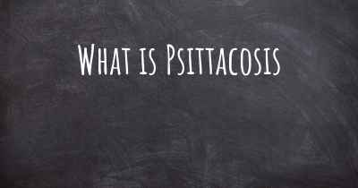 What is Psittacosis