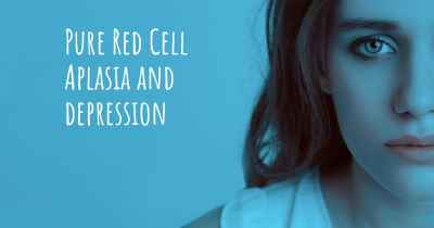 Pure Red Cell Aplasia and depression
