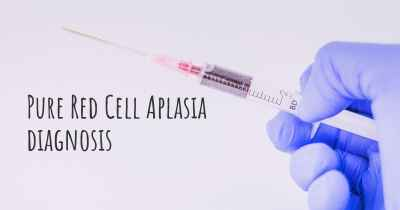 Pure Red Cell Aplasia diagnosis
