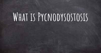 What is Pycnodysostosis