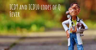 ICD9 and ICD10 codes of Q Fever