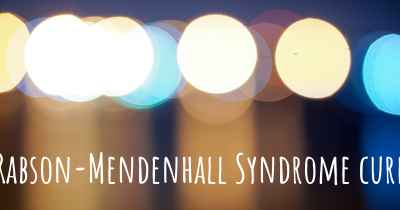 Rabson-Mendenhall Syndrome cure