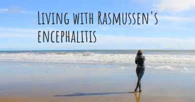 Living with Rasmussen's encephalitis