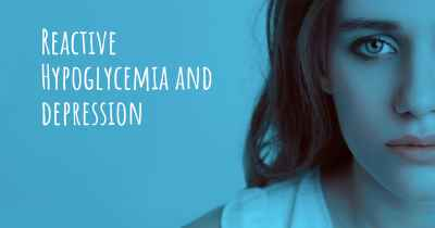Reactive Hypoglycemia and depression