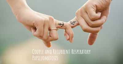 Couple and Recurrent Respiratory Papillomatosis