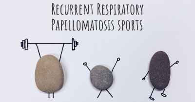 Recurrent Respiratory Papillomatosis sports